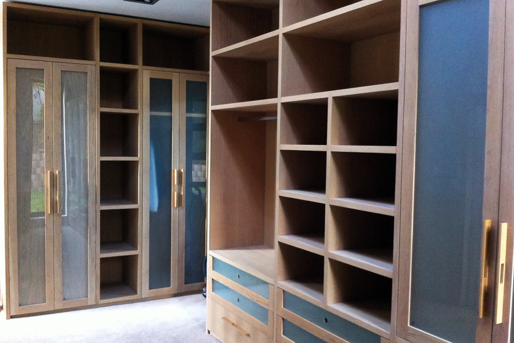 glass fronted wardrobes
