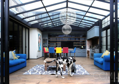 Al Fresco Style Entertainment Area